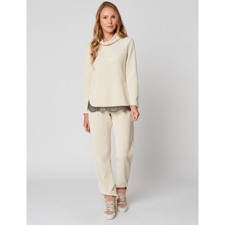 Pyjama chaud CORTINA 902 Ecru