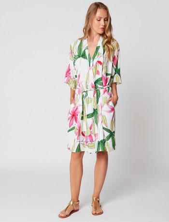 Peignoir kimono imprimé CANOPEE 160