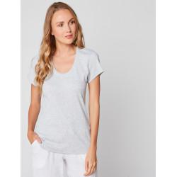 Chemise de nuit débardeur en coton ESSENTIEL 107 Blanc