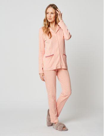 Pyjama boutonné coton PARESSE 206
