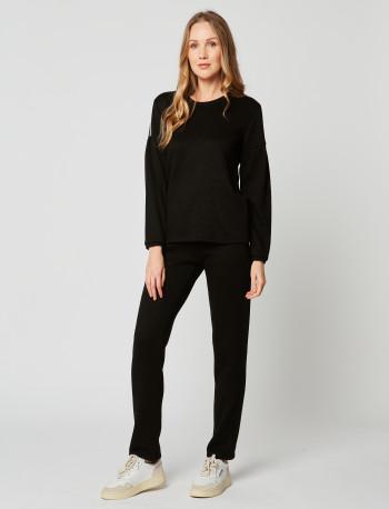 Sweatshirt MAILLE LOVE 230 Noir