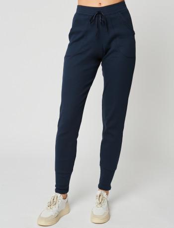 Pantalon homewear en coton ESSENTIEL 280 Marine