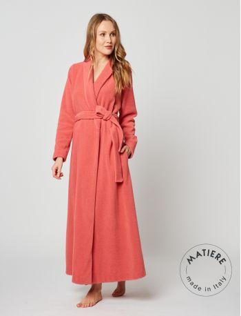 Wraparound robe ESSENTIEL 262 Brick