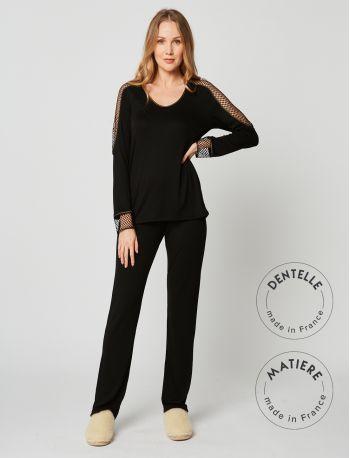 Pyjama MOONLIGHT 202 Noir