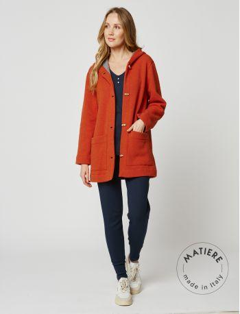 Wool jacket ETOFFE 250 Cinnamon / Grey