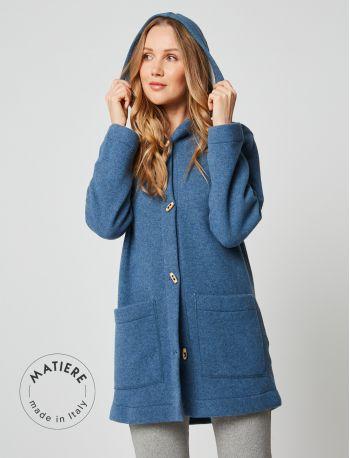 Wool jacket ETOFFE 250 Blue fleck / Grey